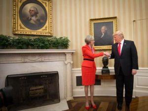 Theresa Mays besøg i Det Hvide Hus var klassisk, britisk, geopolitisk intervention