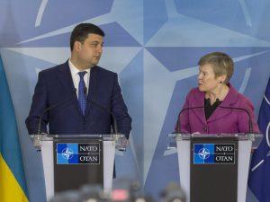 NATO lover fuld støtte til Kiev-regimet