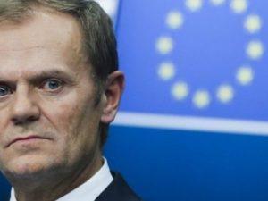 Formand for EU-rådet Donald Tusk: <br>Europa konfronteres med eksistentiel trussel fra Rusland, Kina og nu USA