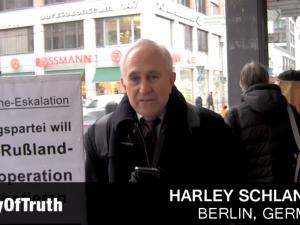 Harley Schlanger fra LaRouche-bevægelsen taler for erhvervs- <br>og militærfolk i Frankfurt om britisk kup mod Trump