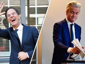 Hollandske valg: Nederlag vendes til 'sejr', EU-stil