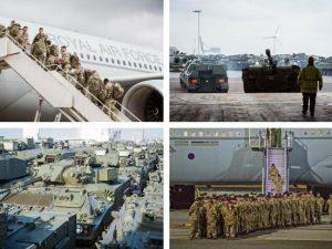 Britiske tropper ankommer til Estland