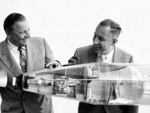 100-års dagen for rumpioneren Krafft Ehrickes fødsel nærmer sig