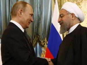 Præsidenterne fra Iran og Rusland diskuterer vidtrækkende <br>dagsorden for strategisk og økonomisk samarbejde