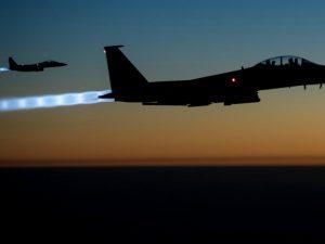 Endnu ingen bekræftelse af amerikansk luftangreb mod <br>ISIS-depot med kemiske våben nær Dier ez-Zur i Syrien