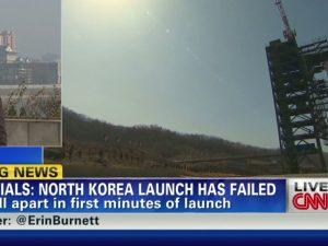 Nordkorea lancerer endnu en mislykket missiltest