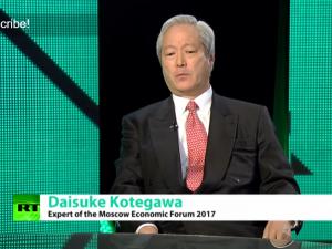 Daisuke Kotegawa i Rusland: Trumps valgsejr markerer et globalt skifte <br>fra finansinteresser til produktion, med tilhørende produktiv beskæftigelse