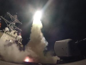 Russisk Forsvarsministerium: <br>USA har ikke leveret bevis for kemiske våben <br>på den syriske flyvebase, som det bombede
