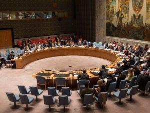 FN's Sikkerhedsråd vedtager erklæring <br>om Nordkorea med russiske tilføjelser