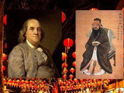 Benjamin Franklin: Elev og tilhænger af Kina og konfucianisme