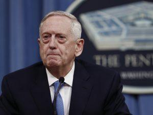 USA's forsvarsminister Mattis: <br>USA arbejder sammen med Kina <br>om at 'gøre Koreahalvøen atomvåbenfrit'