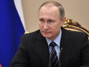 Putin interviewet af Mir Tv-kanal aftenen før sit officielle besøg i Kirgisistan