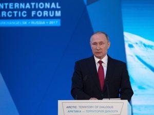 Putin fremlægger udviklingsstrategi for det Arktiske Område