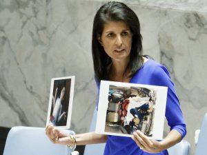 I FN's Sikkerhedsråd fordømmer Rusland USA's angreb <br>mod Syrien; anklager Vesten for hykleri