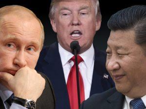 Trump sætter ind for fred i Asien; <br>New York Times råber på krig