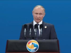 Præsident Vladimir Putin kalder Bælt & Vej-initiativet for <br>et projekt, der omfatter hele civilisationen
