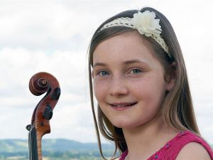 Den dybereliggende proces bag <br>Alma Deutschers musikalske geni: <br>En 12-årig komponist af klassisk musik