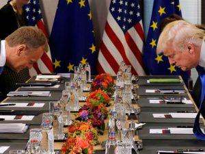 EU og USA uenige om frihandel og klima