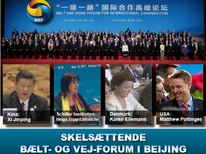 NYHEDSORIENTERING MAJ/JUNI 2017: <br>Skelsættende Bælt &#038; Vej Forum i Beijing
