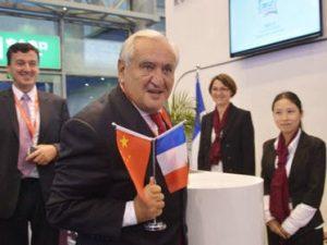 Tidligere fransk premierminister Raffarin vil lede <br>fransk delegation til Bælt &#038; Vej Forum i Beijing, <br>»et fredeligt projekt for global udvikling«
