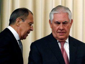 Lavrov og Tillerson skal mødes i Washington 10. maj