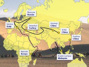 En uge før Beijing topmødet går verden <br>i retning af Kinas Bælt & Vej-initiativ