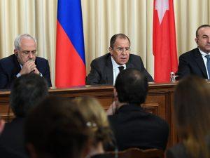 Ruslands udenrigsminister Lavrov advarer Trump om, <br>at Iran må inkluderes for at opnå fred i Syrien
