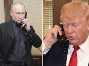 Trump og Putin diskuterer Syrien og Nordkorea; muligt møde