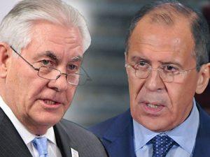Udenrigsministrene Lavrov og Tillerson, generalerne Dunford og <br>Gerasimov, drøfter samarbejde i Syrien