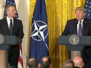 Præsident Trump gør ISIS til emnet for NATO-topmødet