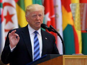 Præsident Trump i Mellemøsten: <br>Gå i forening imod terrorisme og løs <br>den israelsk-palæstinensiske splittelse