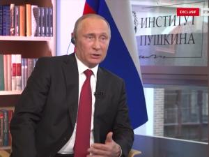 Vladimir Putin i interview til Le Figaro: <br>'Hold op med at opfinde en russisk trussel'
