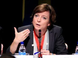 Karen Ellemanns indlæg ved tematisk session om Infrastruktur-forbundethed <br>på Bælte &#038; Vej Forum, 14. maj i Beijing