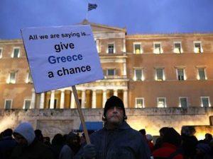 Prognose fra EU-kommissionen: <br>Afbetaling af græsk statsgæld kunne kræve op til 56 % af BNP!