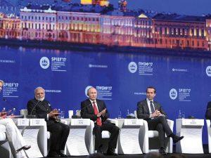Skt. Petersborg Internationale Økonomisk Forum (SPIEF) åbner; <br>Ingen Obama til at modarbejde amerikanske selskabers deltagelse