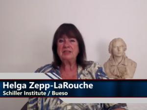Helga Zepp-LaRouches Appel til <br>den amerikanske befolkning: <br>Hjælp jeres præsident Trump <br>med at opfylde sine valgløfter <br>og genindføre Glass-Steagall