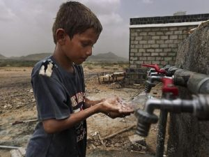Koleraepidemi accelererer i Yemen