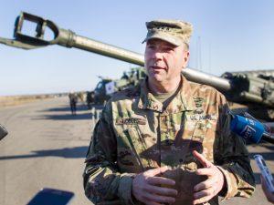 Den amerikanske hærs øverstkommanderende for Europa Ben Hodges <br>bekymret over Ruslands »varme ånde« i Sverige