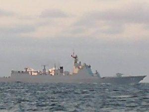 Den kinesiske flåde deltager i russisk flådeøvelse i Østersøen