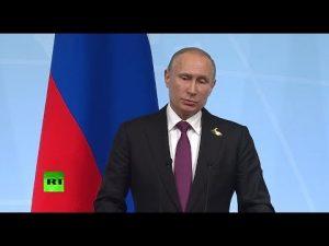 Putins pressekonference på G20 understreger, hans møde med Trump var en god begyndelse for at forbedre relationer, og fremskridt om Syrien
