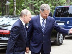 Putin angriber den Amerikanske Kongres' vedtagelse <br>af ny lov om anti-russiske sanktioner