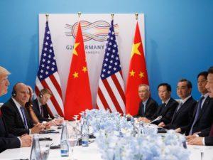 Præsident Trump møder præsident Xi på sidelinjen af G20