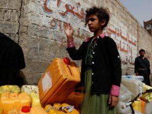Fælleserklæring UNICEF, WHO og WFR: <br>Yemen står over for »den værste koleraepidemi i verden«