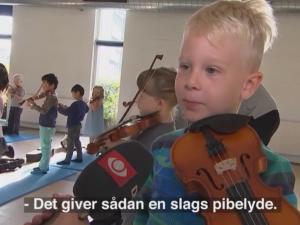 Hjørring vil lære alle børn at spille et instrument og synge