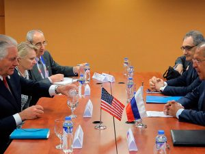Manila-møde mellem Lavrov og Tillerson <br>dækker spørgsmål inkl. INF