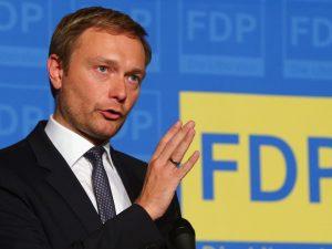 Leder af det tyske Frie Demokratiske Parti opfordrer <br>til genstart af konstruktiv dialog med Rusland