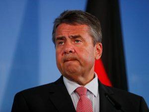 Tysklands udenrigsminister Gabriel angriber igen USA's nye sanktioner mod Rusland