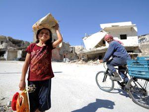 FN-organisation: 600.000 syriske flygtninge er vendt hjem; <br>russisk forsvarsminister Shoigu opfordrer til hjælp til hjemvendte