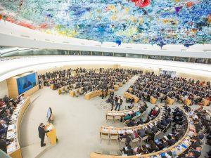 FN's Menneskerettighedsråd forventes at stemme om <br>en resolution for en international undersøgelse af <br>krænkelser af menneskerettigheder i Yemen