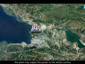 »Måske er fremtiden endelig kommet til Haiti«: <br>Kineserne har planlagt gennemgribende <br>renovering og modernisering af Port-au-Prince
